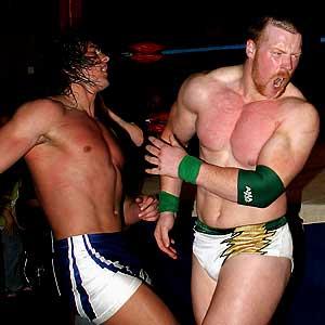Drew McIntyre and Sheamus